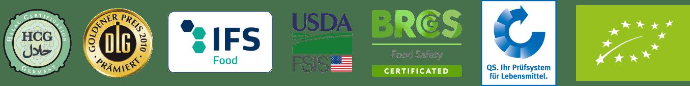 Hochreiter Fleischwaren Zertifikate & Auszeichnungen