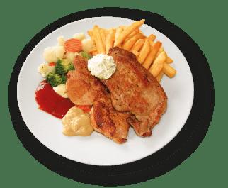 Mahlzeit Bad Leonfelden Grillteller